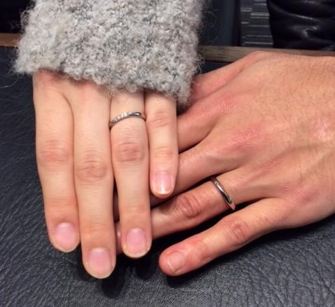 LUCIE [ルシエ] の『リファージュ』ご結婚指輪 (新潟市 / U様ご夫婦)