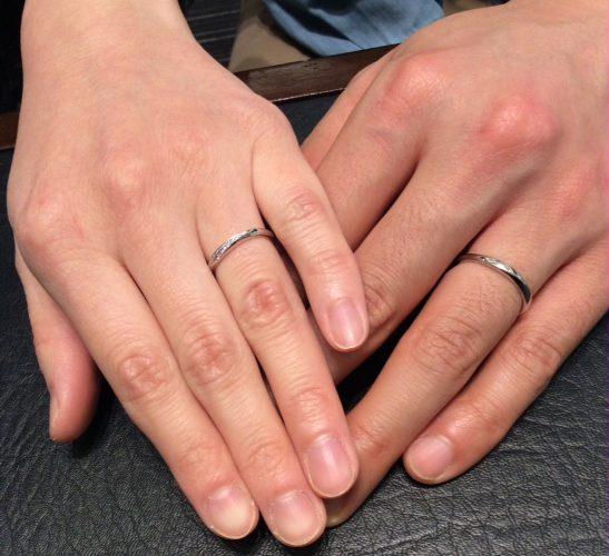 カフェリングのご結婚指輪『ローブドゥマリエ』いい夫婦の日にご入籍✨(新発田市・燕市/A様R様)