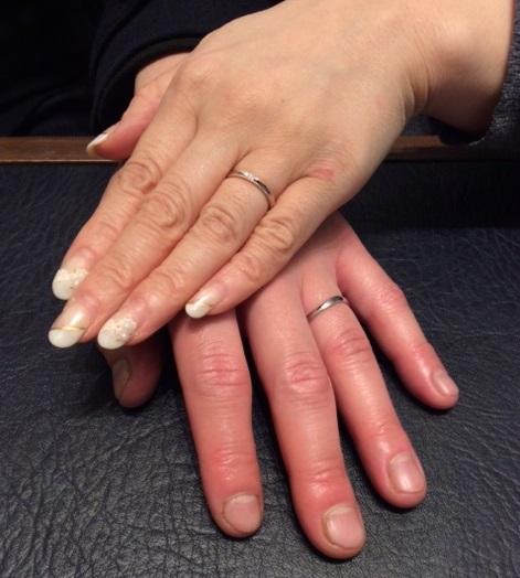 &tique(アンティック)の結婚指輪『フェディオ』&『アッシェマチュリテ』(新潟市/K様&A様)