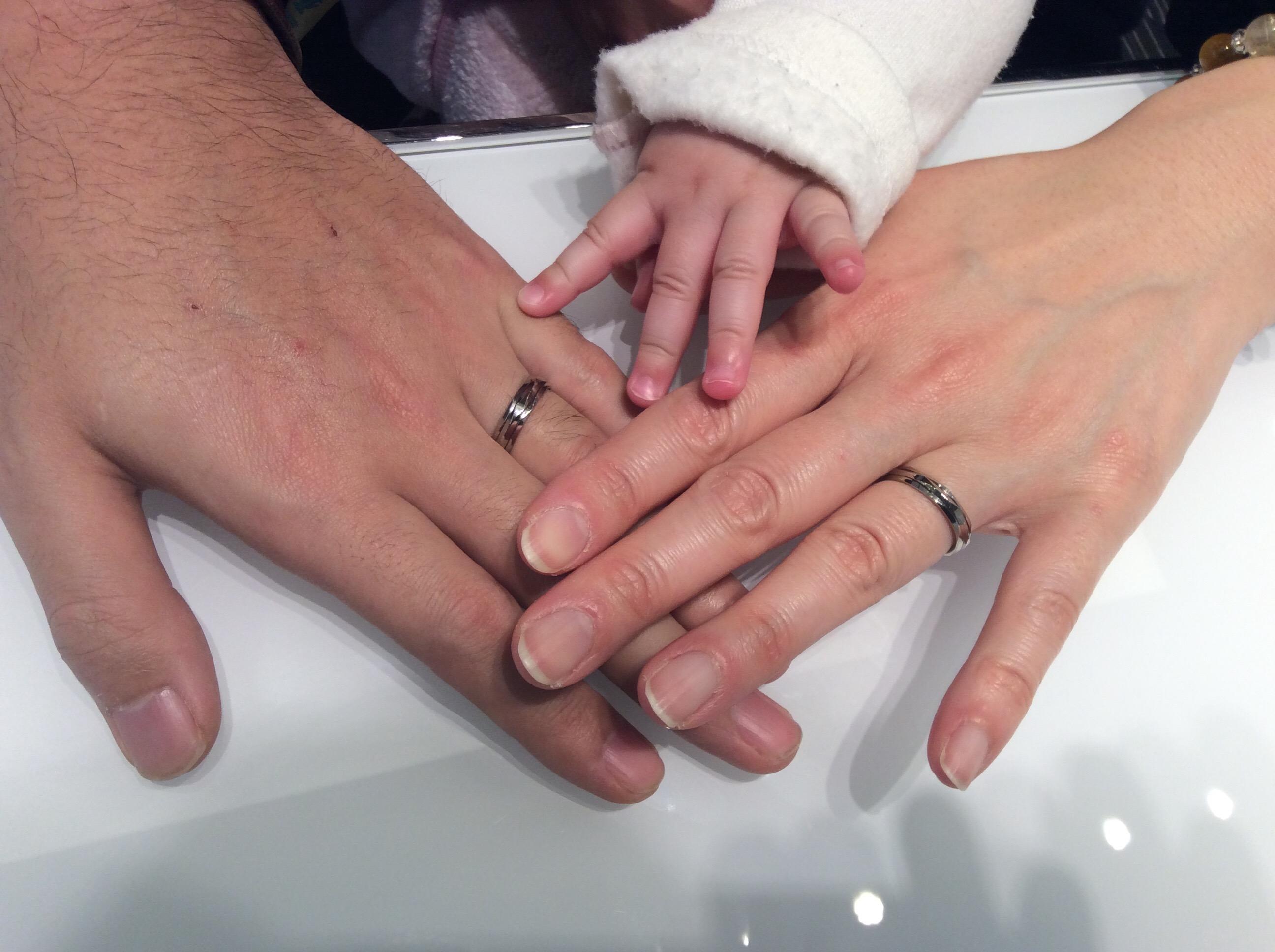 """『他とはカブリにくい個性派、結婚指輪💖ニューヨークニワカのマリッジリング""""リューズ""""』"""