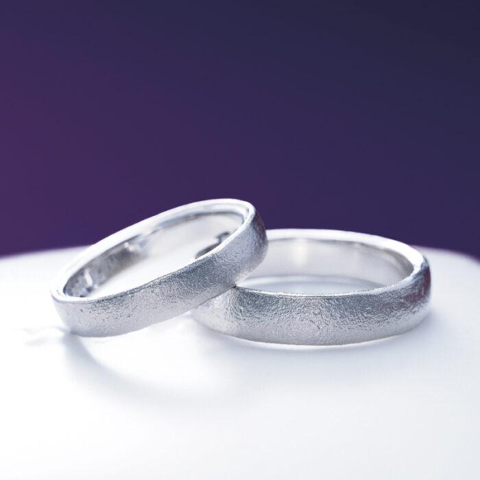 俄の結婚指輪「長次郎」