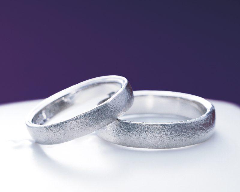 確かな存在感『俄・長次郎』の結婚指輪をご成約。新潟市Y様・N様