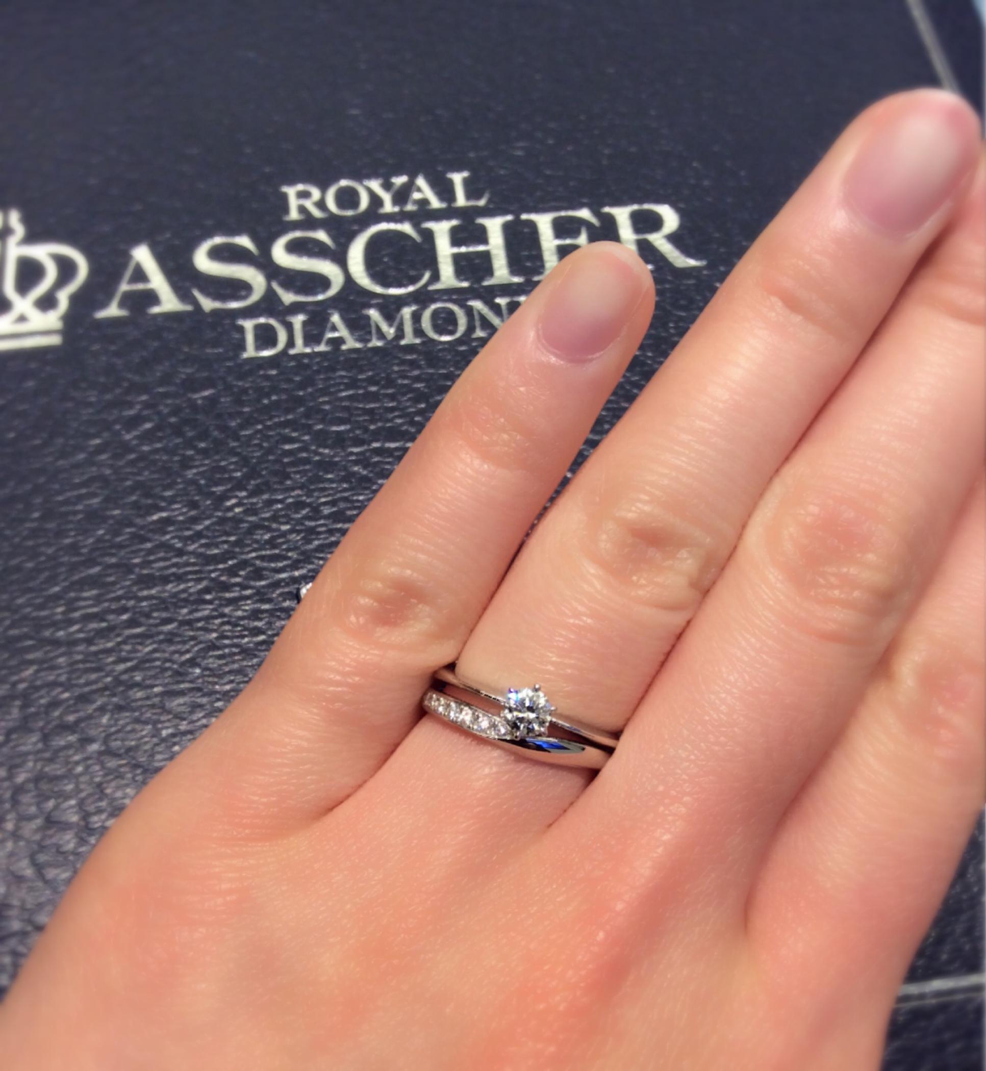 💎ロイヤルアッシャーの新作のご紹介💎婚約指輪&結婚指輪💍