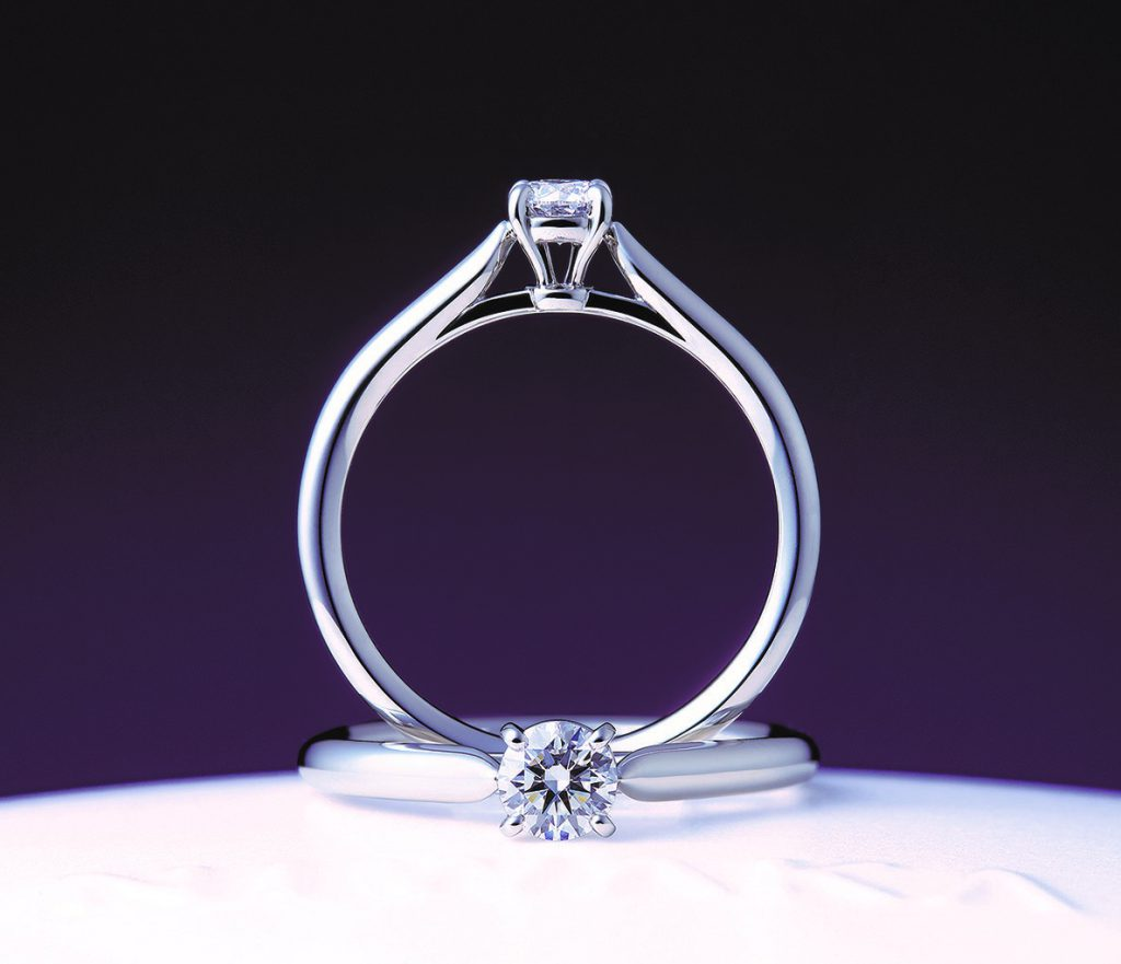 婚約指輪💍俄(にわか)の新たなモデル『花篝(はなかがり)』