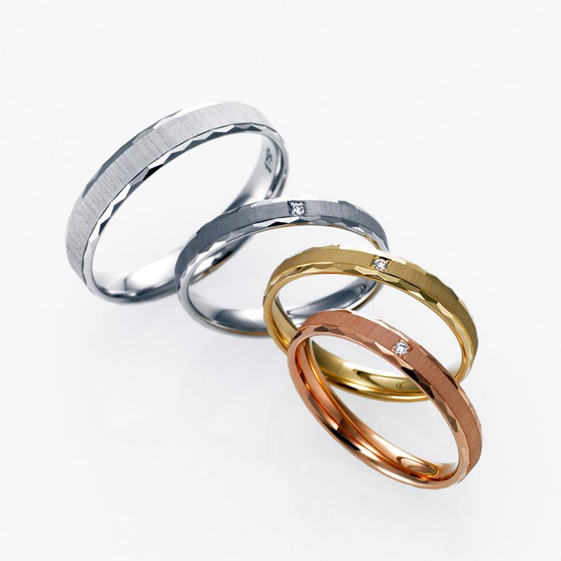【新潟市】アレルギーに強い指輪のブランド/ 金属3素材