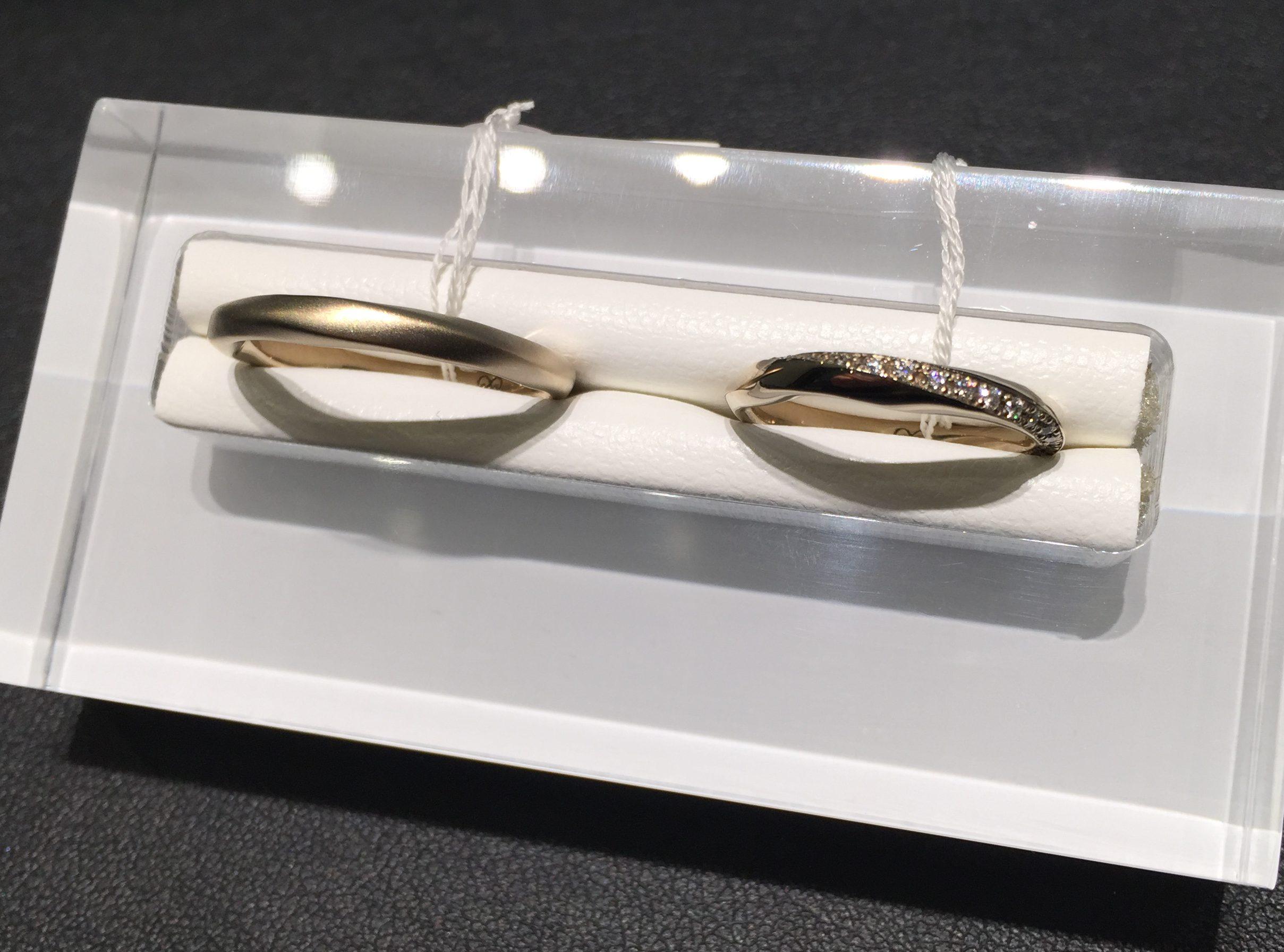5種類の素材が選べるOCTAVE(オクターブ)の結婚指輪💛💙
