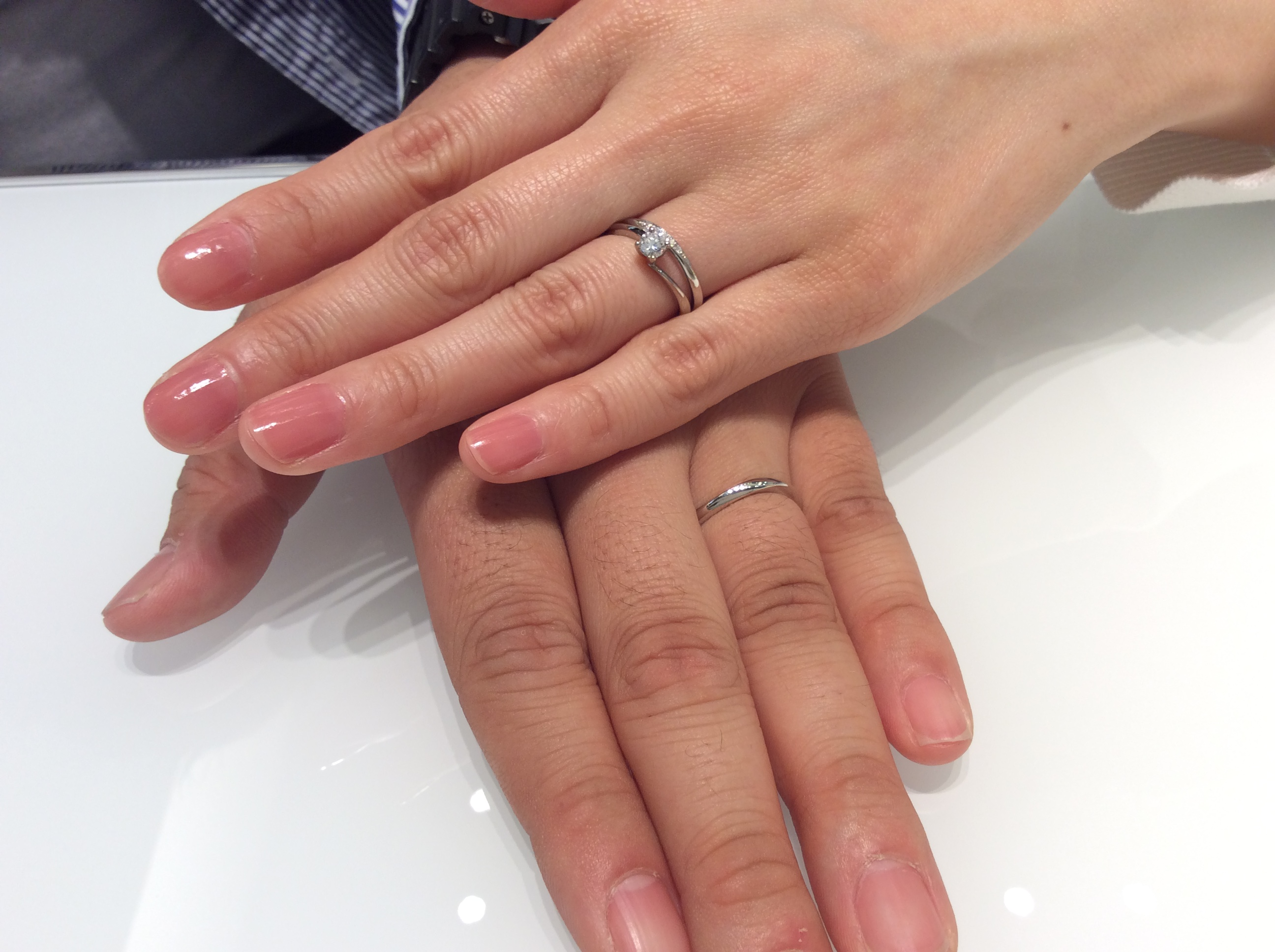 結婚指輪 ルシエの「リファージュ」をご成約(新潟市/A様・M様)