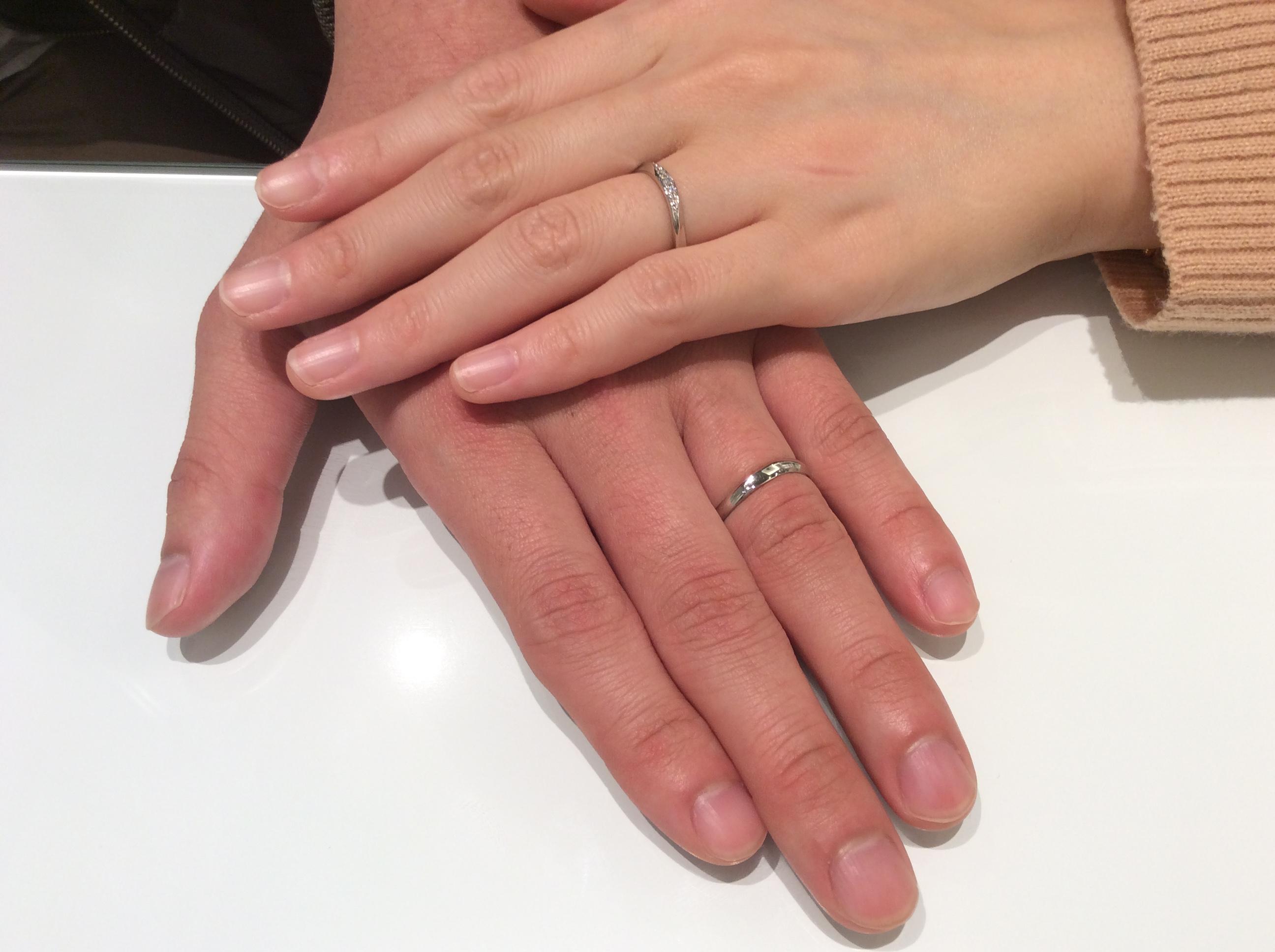 花嫁さんの準備ばっちり!結婚指輪とパールネックレスをご成約(新発田市・新潟市/T様ご夫婦)