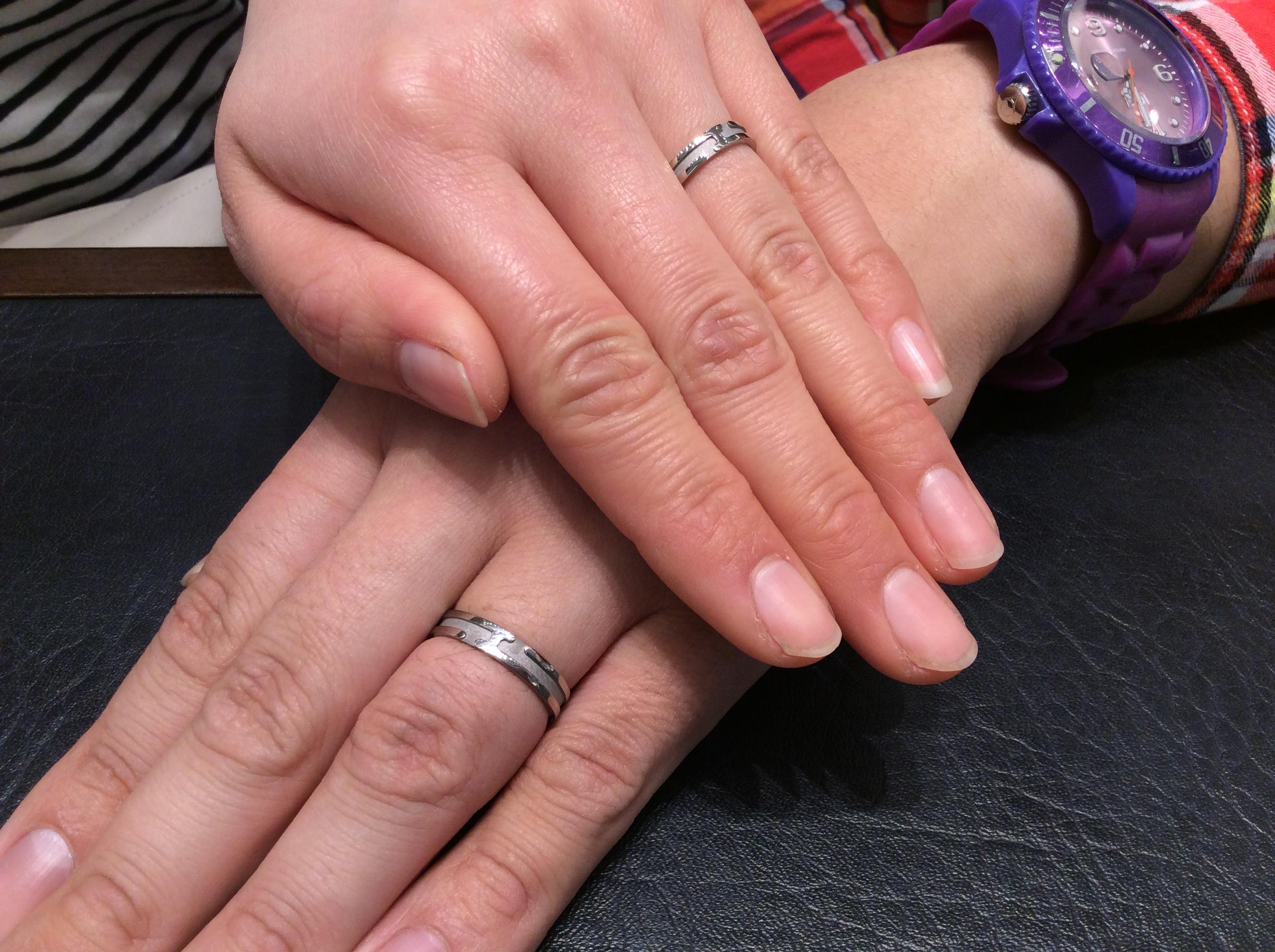 結婚指輪 俄(にわか)の 「八重霞」をご成約 (長岡市/Y様ご夫婦)