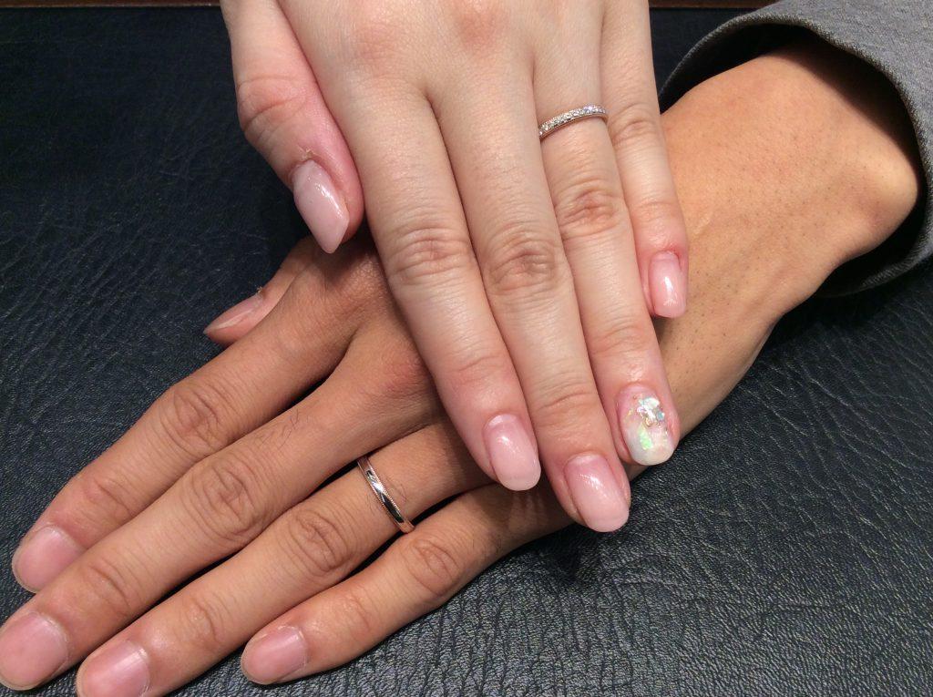 結婚指輪 ポンテヴェキオの「ミルアモーレ」をご成約(新潟市/K様ご夫婦)