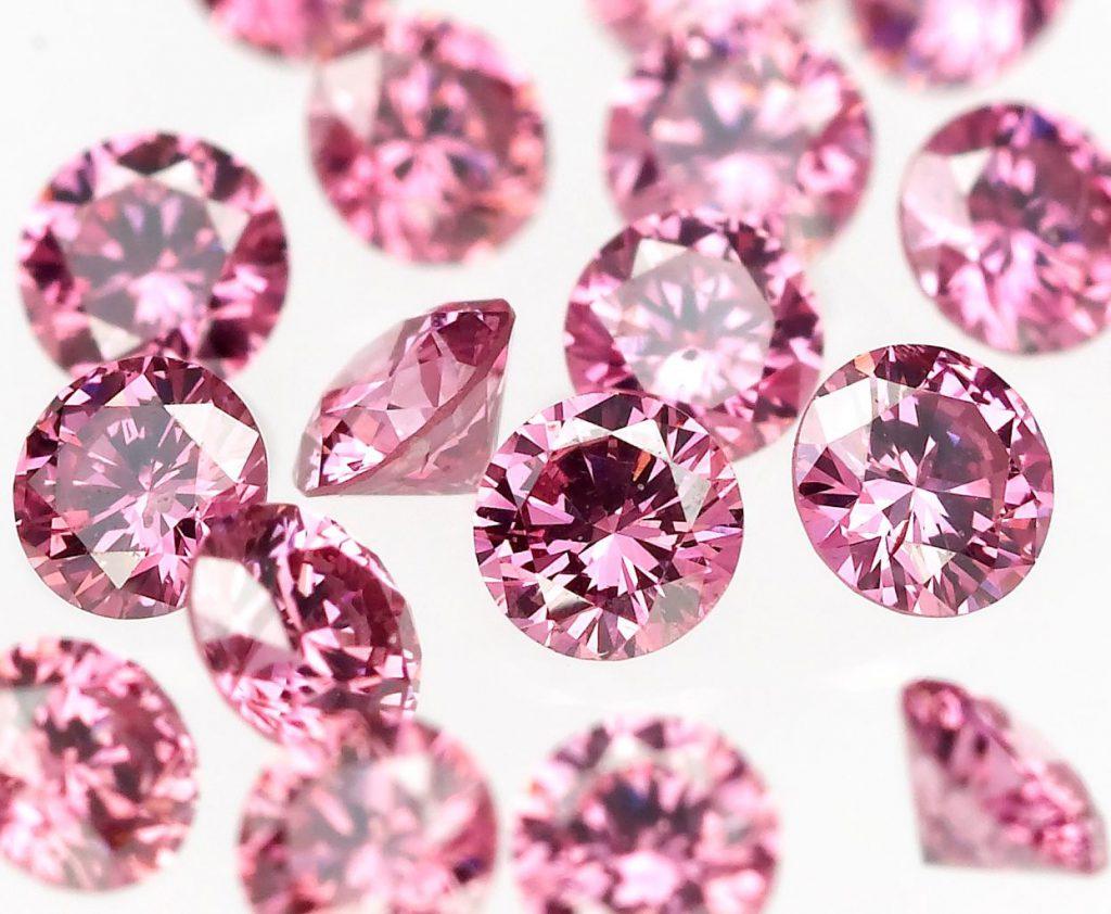 ピンクダイヤモンド ルース
