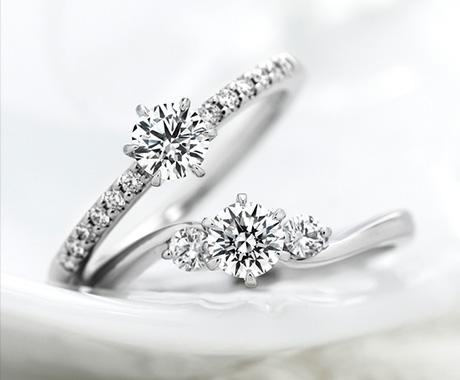 婚約指輪のいろんなデザイン