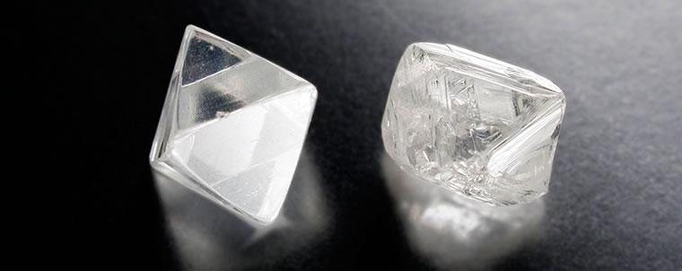 ダイヤモンド 原石の画像