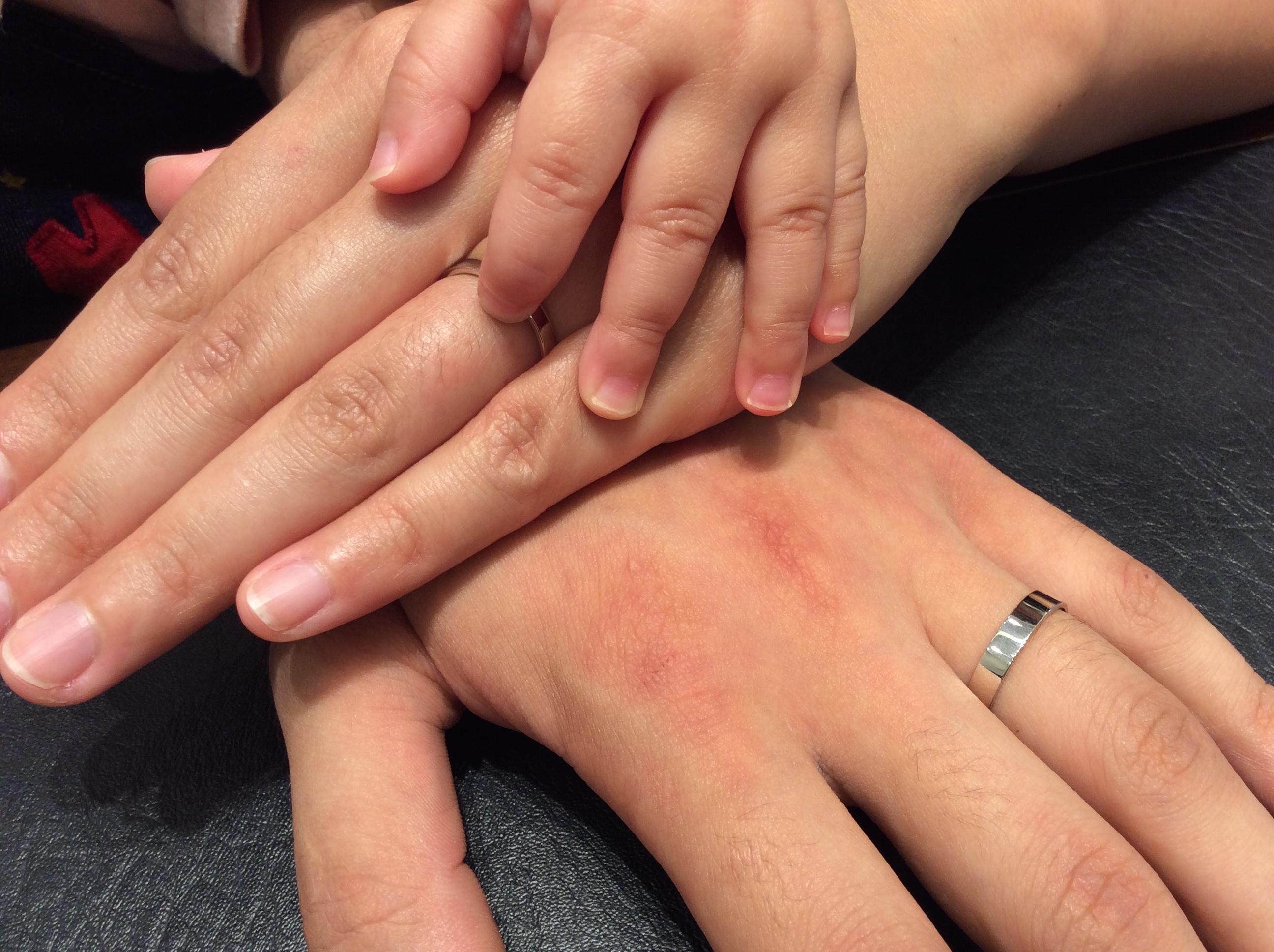 シンプルだからこそのクオリティ!俄(にわか)の結婚指輪「ことほぎ」をご成約(新潟市/I様ご夫婦)
