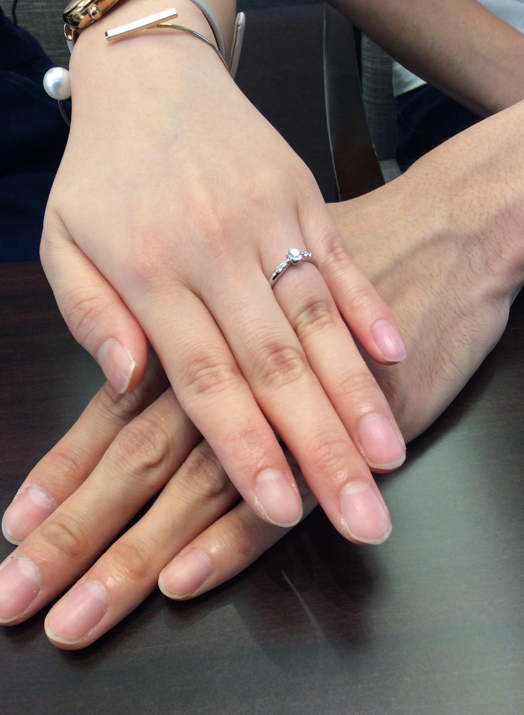 婚約指輪 ラザールダイヤモンドをご成約頂きました!!(新潟市/U様)
