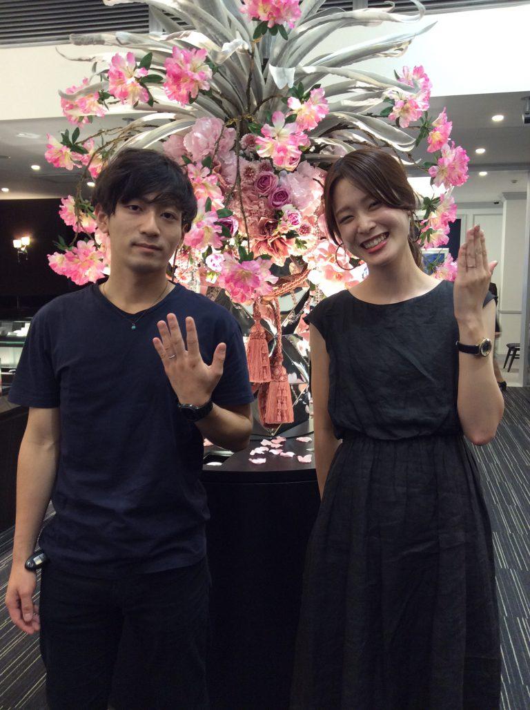 """極上の着け心地!カフェリングの""""フォンダント""""(新潟市/I様・H様)"""