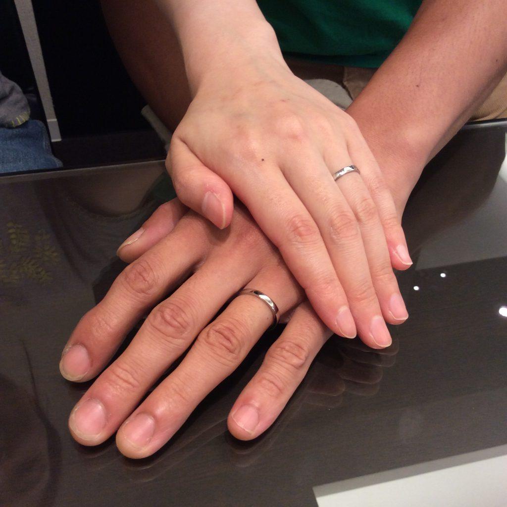 結婚指輪 プルーブをご成約(新発田市/H様ご夫婦様)