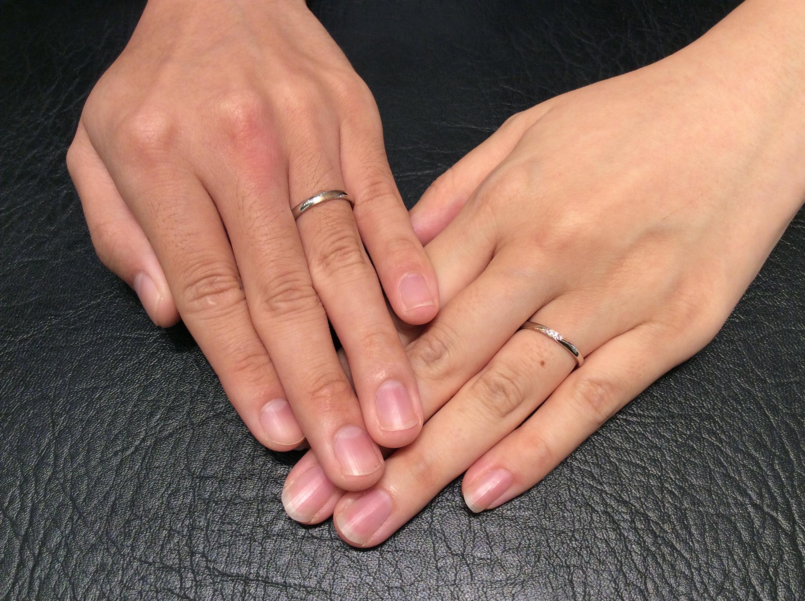 結婚指輪 &tique(アンティック)の「ノイルト」(新潟市中央区/T様・N様)