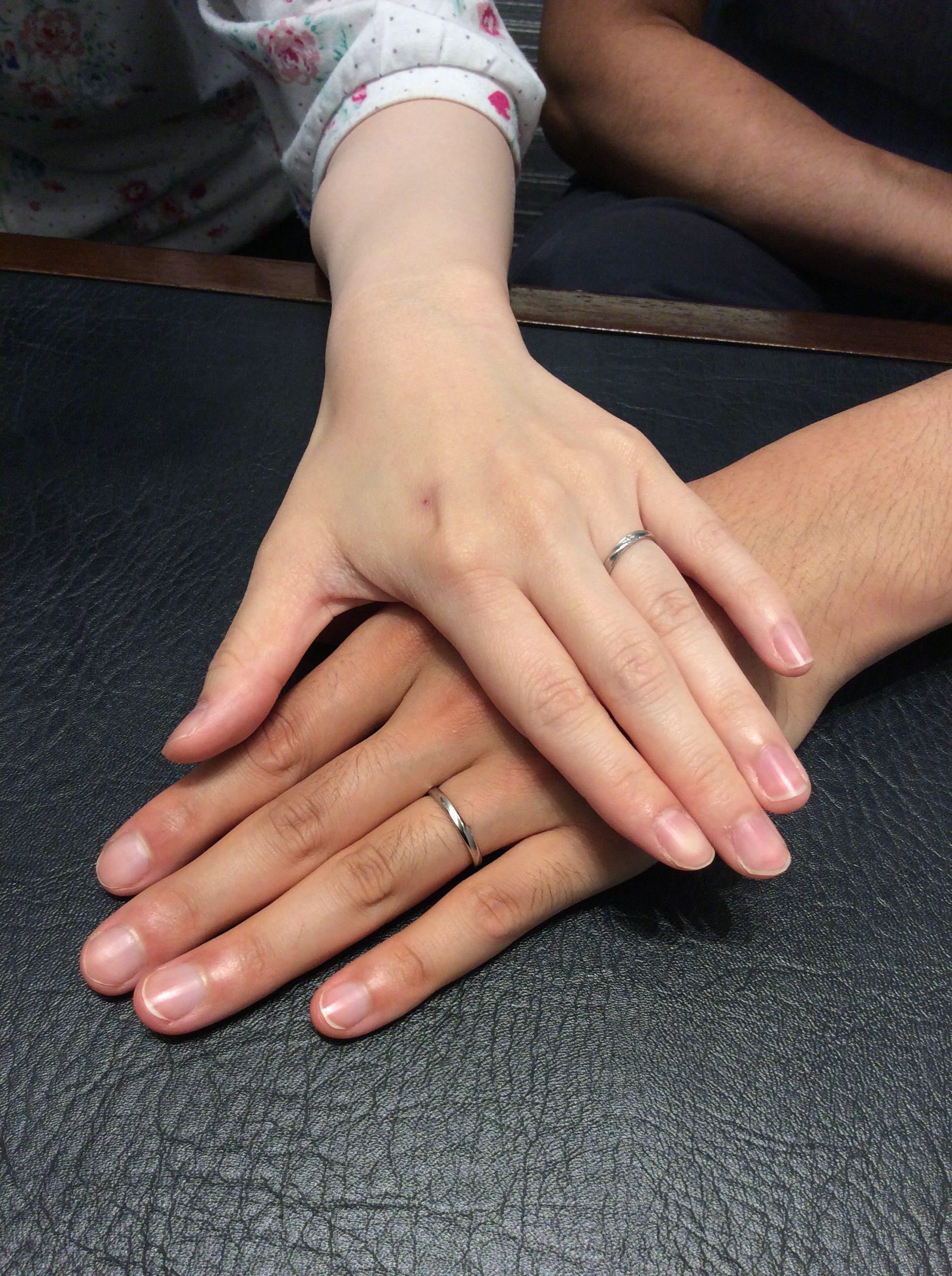 結婚指輪 ロイヤルアッシャーをご成約(新潟市中央区/A様・I様)