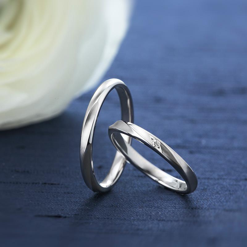 ロイヤルアッシャーの結婚指輪(新潟市/S様&K様)