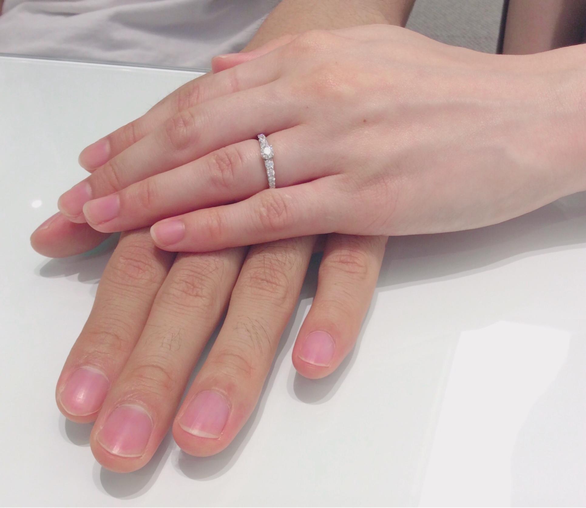 婚約指輪 ロイヤルアッシャー