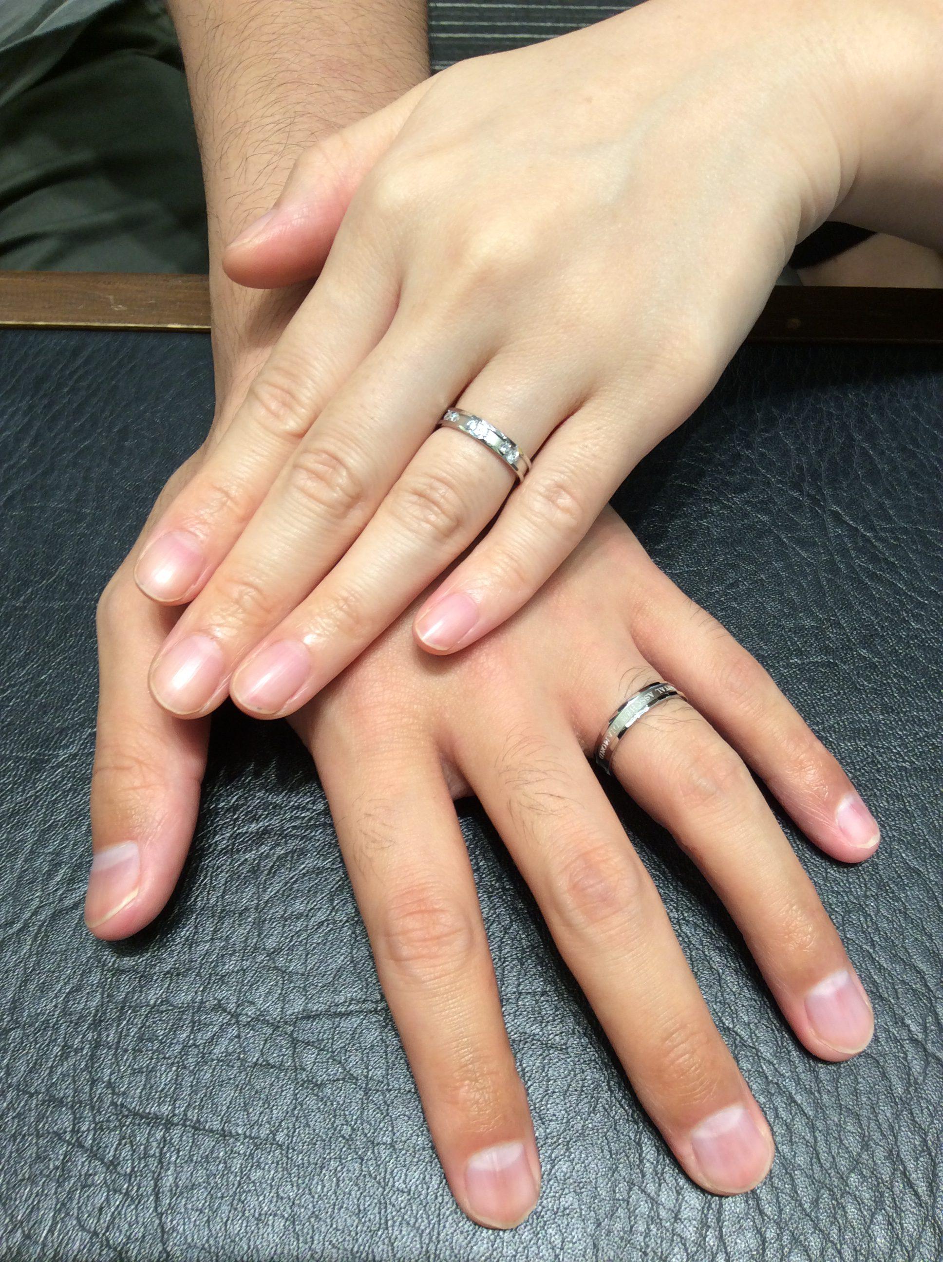 結婚指輪 ロイヤルアッシャーをご成約 (新潟市/S様ご夫妻様)
