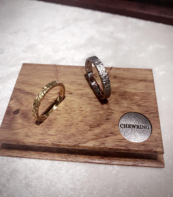 おしゃれな表面加工✨SORAの結婚指輪