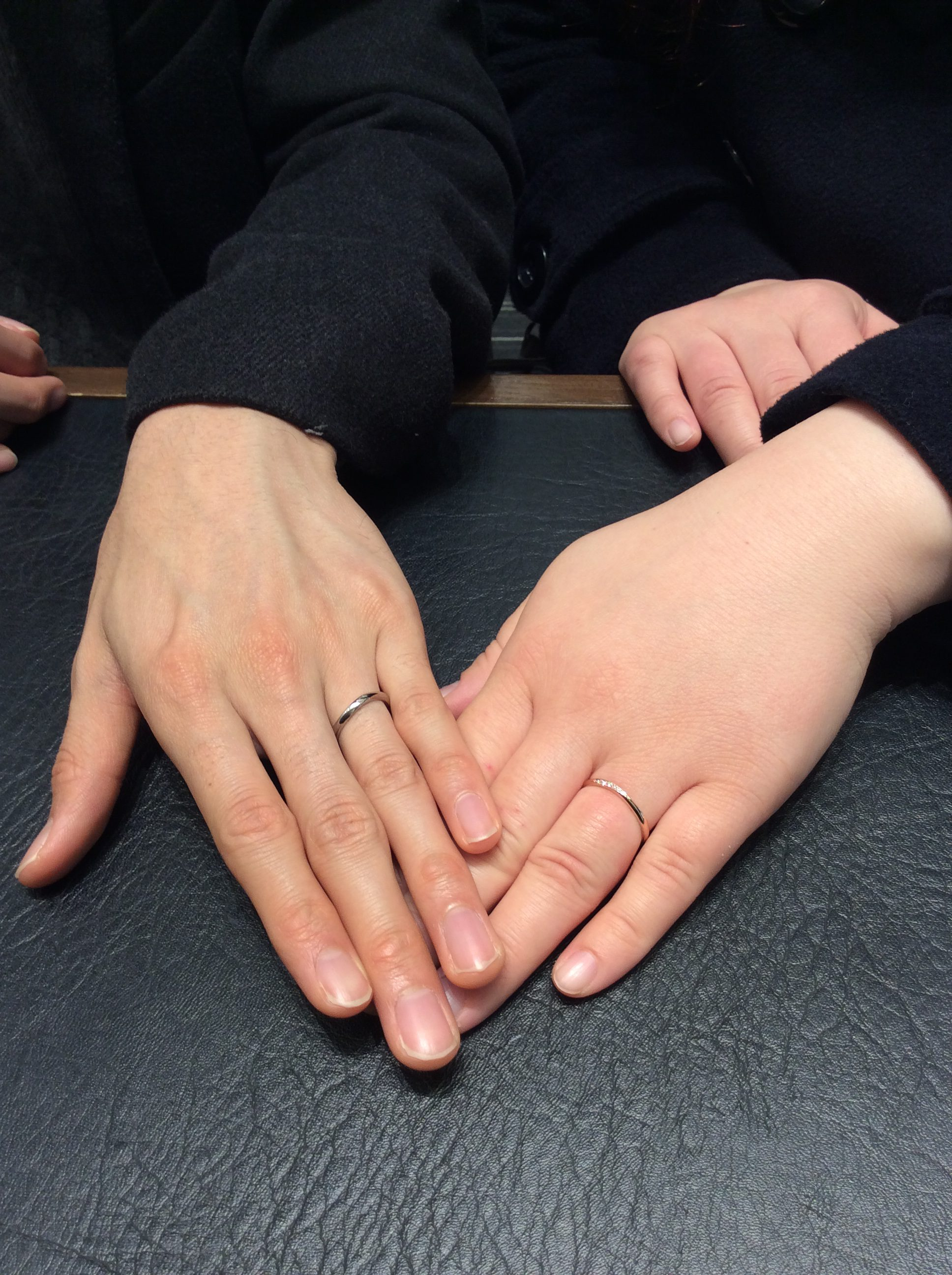ルシエの結婚指輪をご納品(長岡市&小千谷市/Y様カップル)