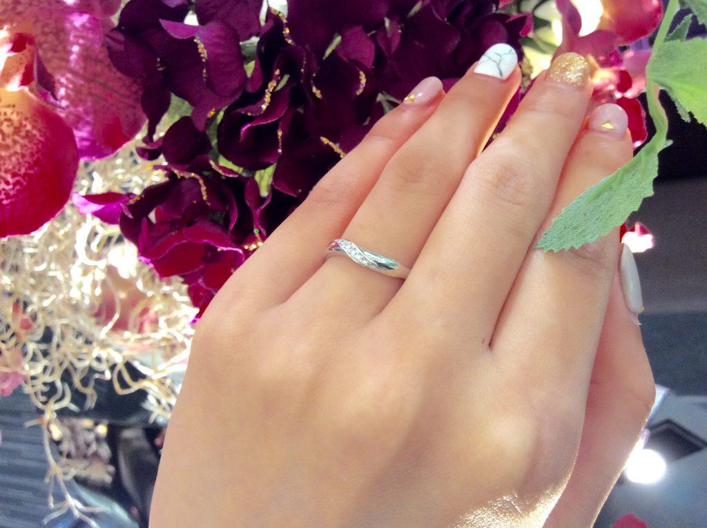幸せになるおまじない💫Something blue(サムシングブルー)💙の結婚指輪💎💙
