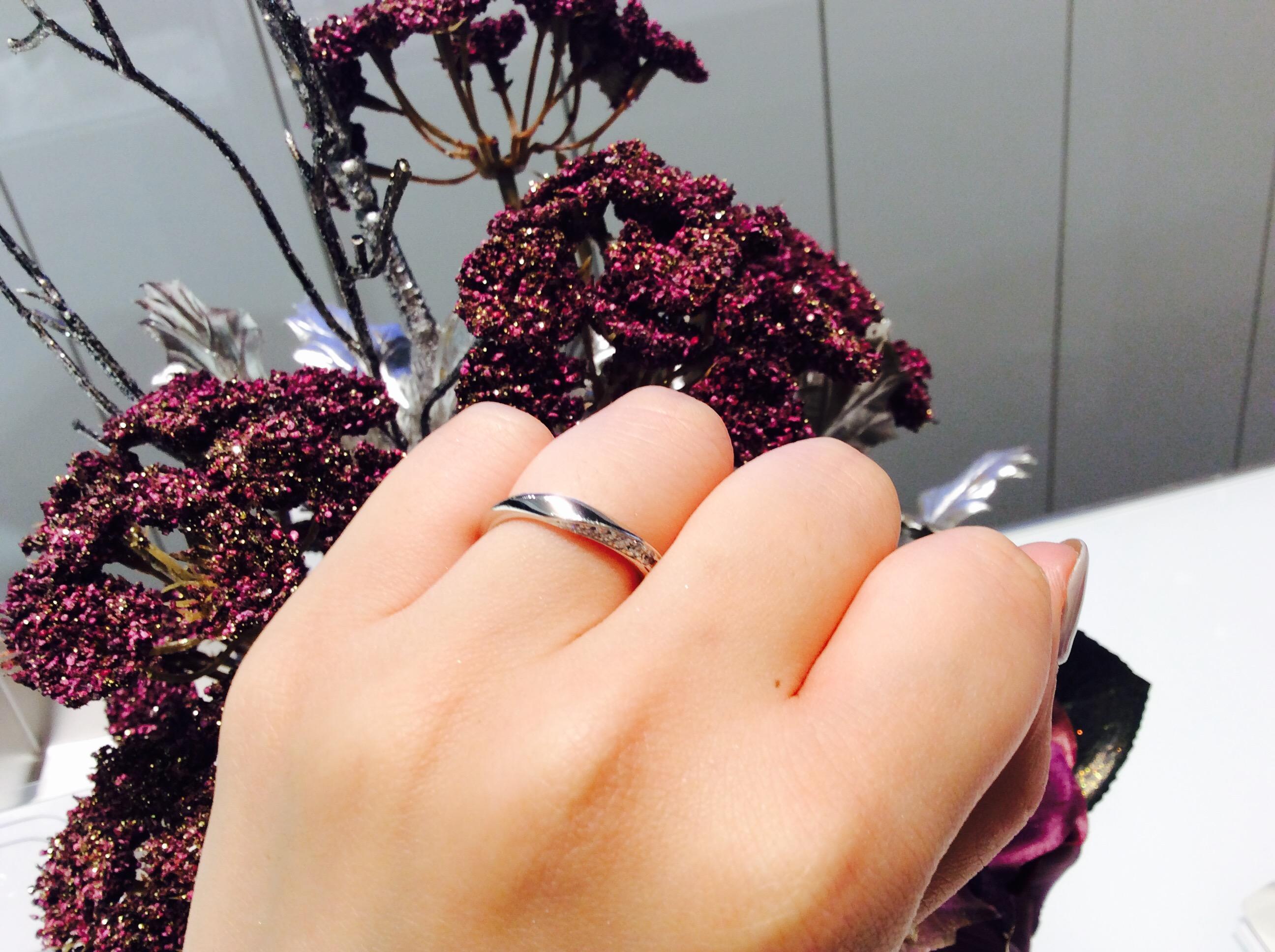 ブライダルフェア真っ最中❣️つけ心地が良いCafe Ring(カフェリング)結婚指輪