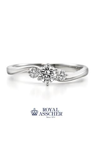 サプライズプロポーズにぴったり❗️ロイヤルアッシャーの婚約指輪(エンゲージリング)💍✨