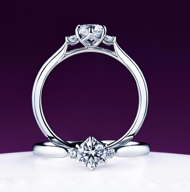 俄(にわか)/NIWAKA 白鈴の婚約指輪