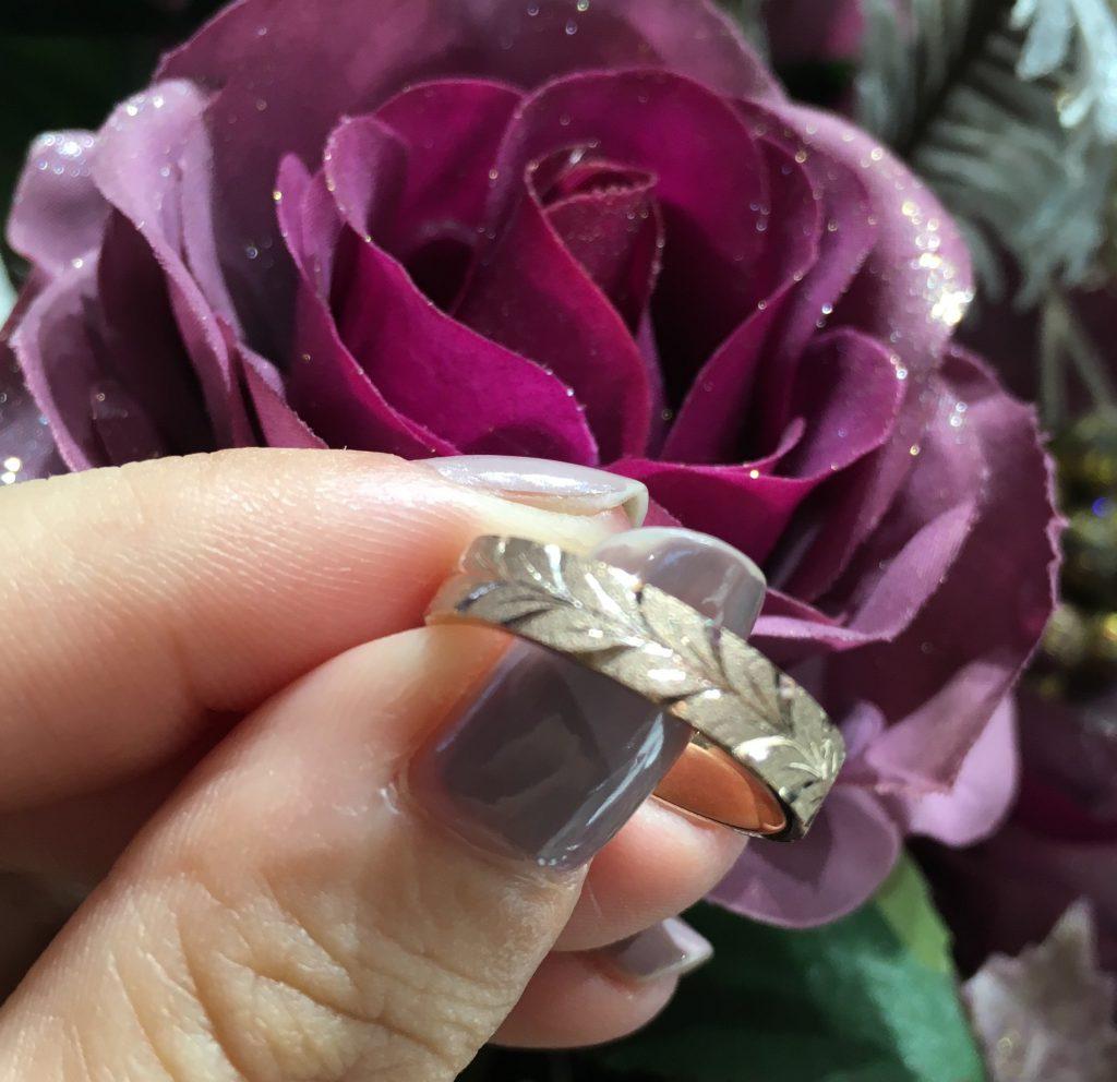 NIWKA/花匠の彫(かしょうのほり)の結婚指輪