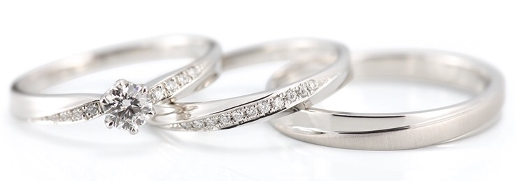 kukka🌸kukkaのご結婚指輪(新発田市/M様&M様)