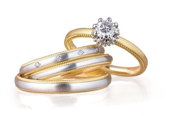 ルシエのご婚約指輪とご結婚指輪(新潟市/Y様&A様)