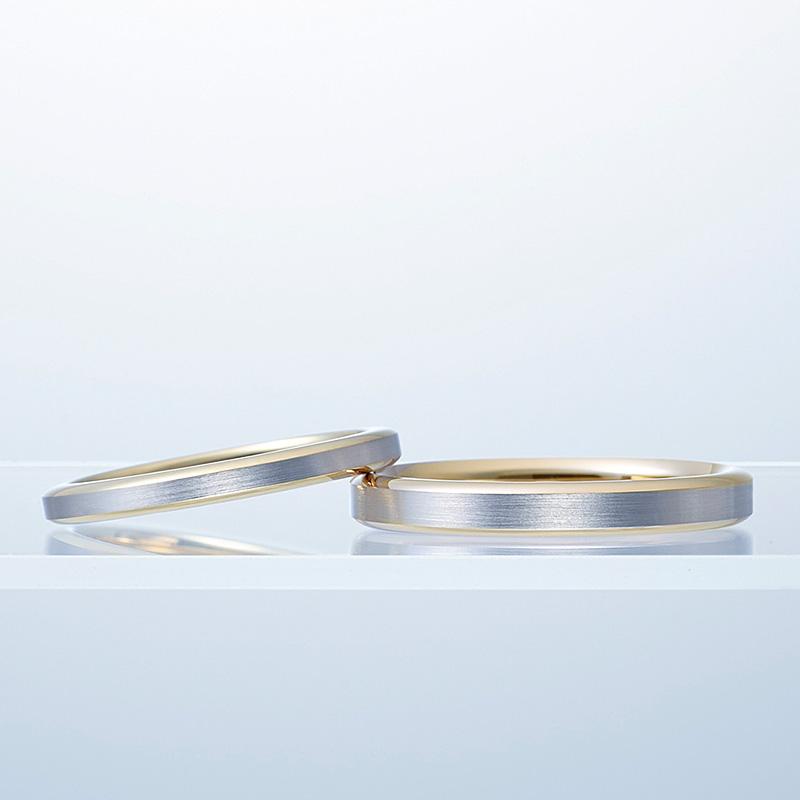 N.Y.NIWAKAの結婚指輪『HARMONY』