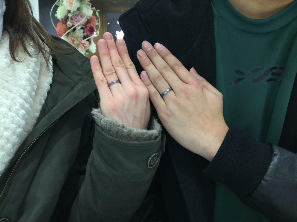 ソラ(SORA)の結婚指輪のご納品‼️(新潟市/Y様❤️M様)