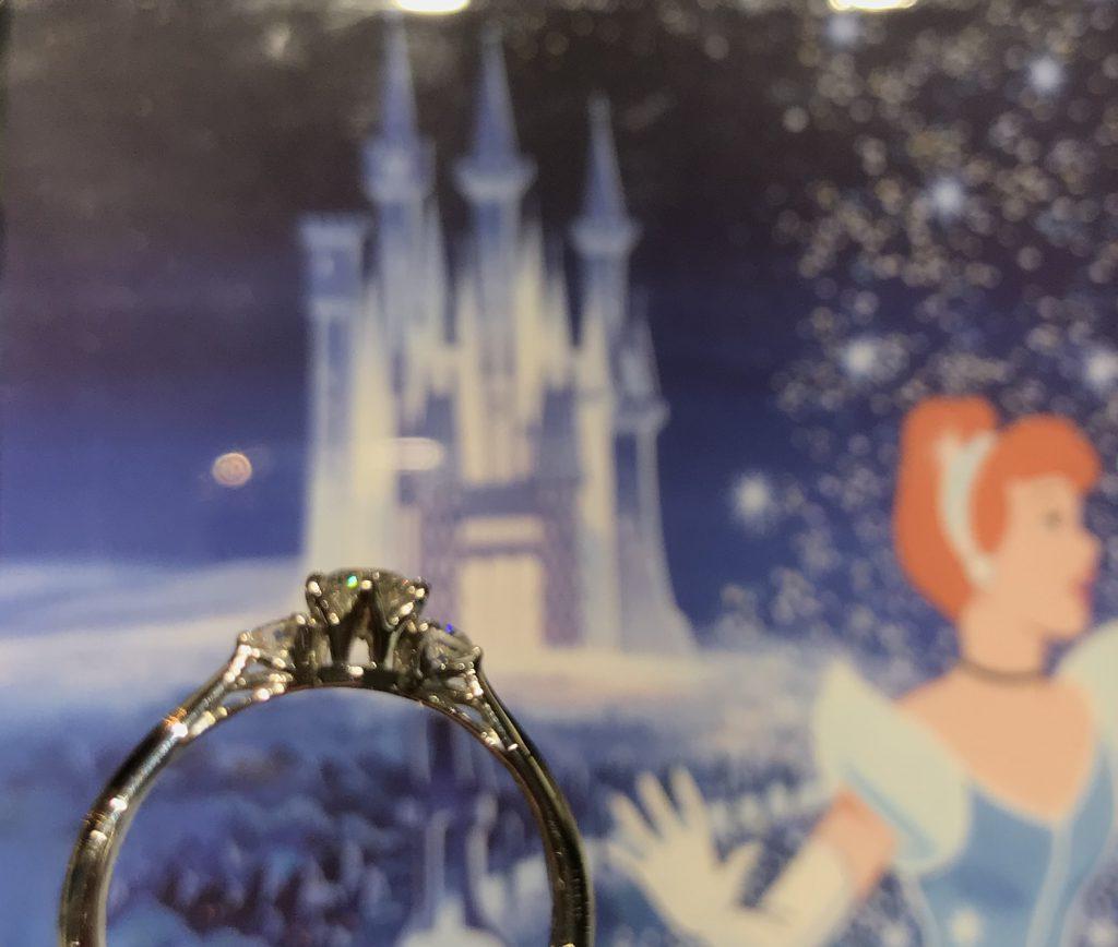 新潟で大人気🌟ディズニーの婚約指輪🏰〜シンデレラ〜