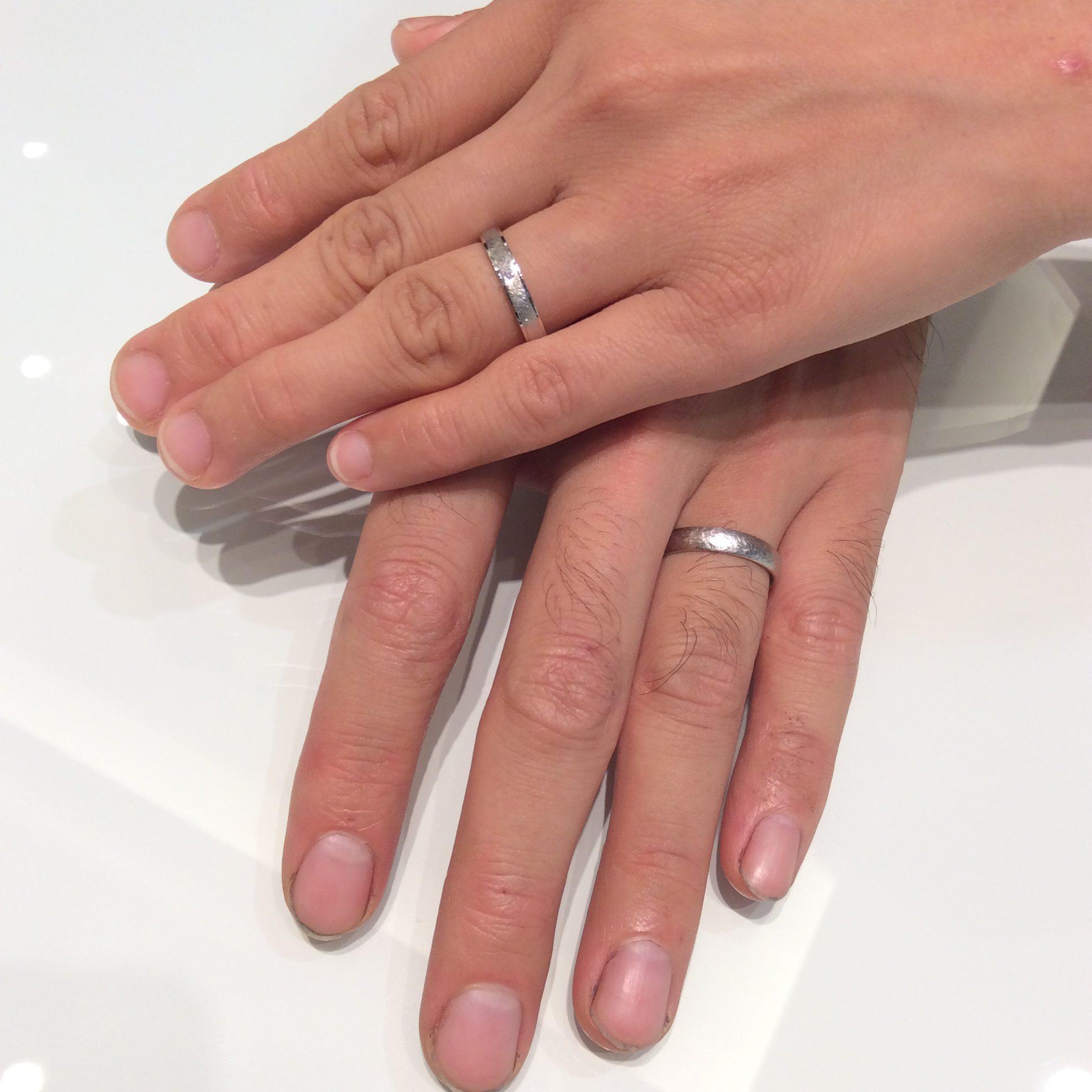 FISCHER(フィッシャー)の結婚指輪をご成約(長岡市/吉原様ご夫婦)