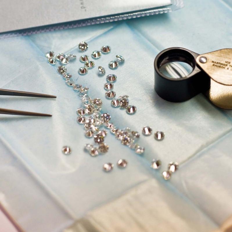 ダイヤモンド 鑑定の画像