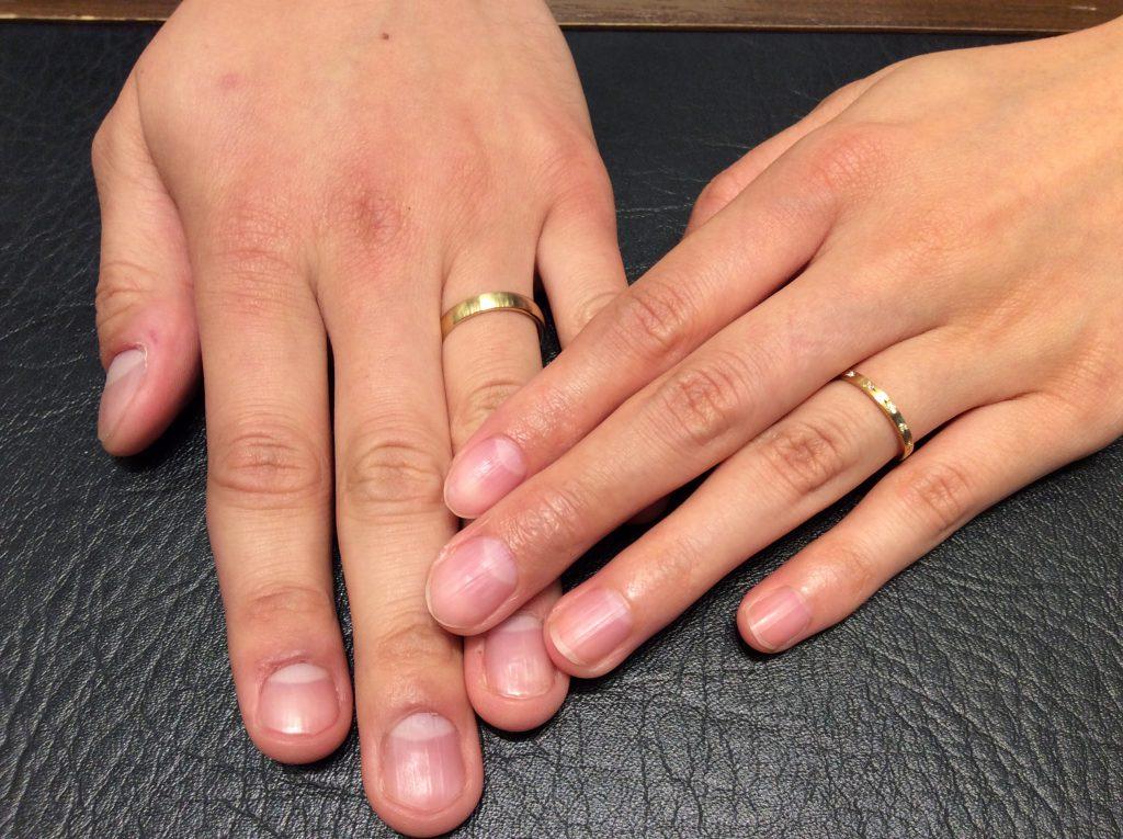 ルシエの結婚指輪「アクア」と「パレ」をご成約(新潟市/K様♡A様)