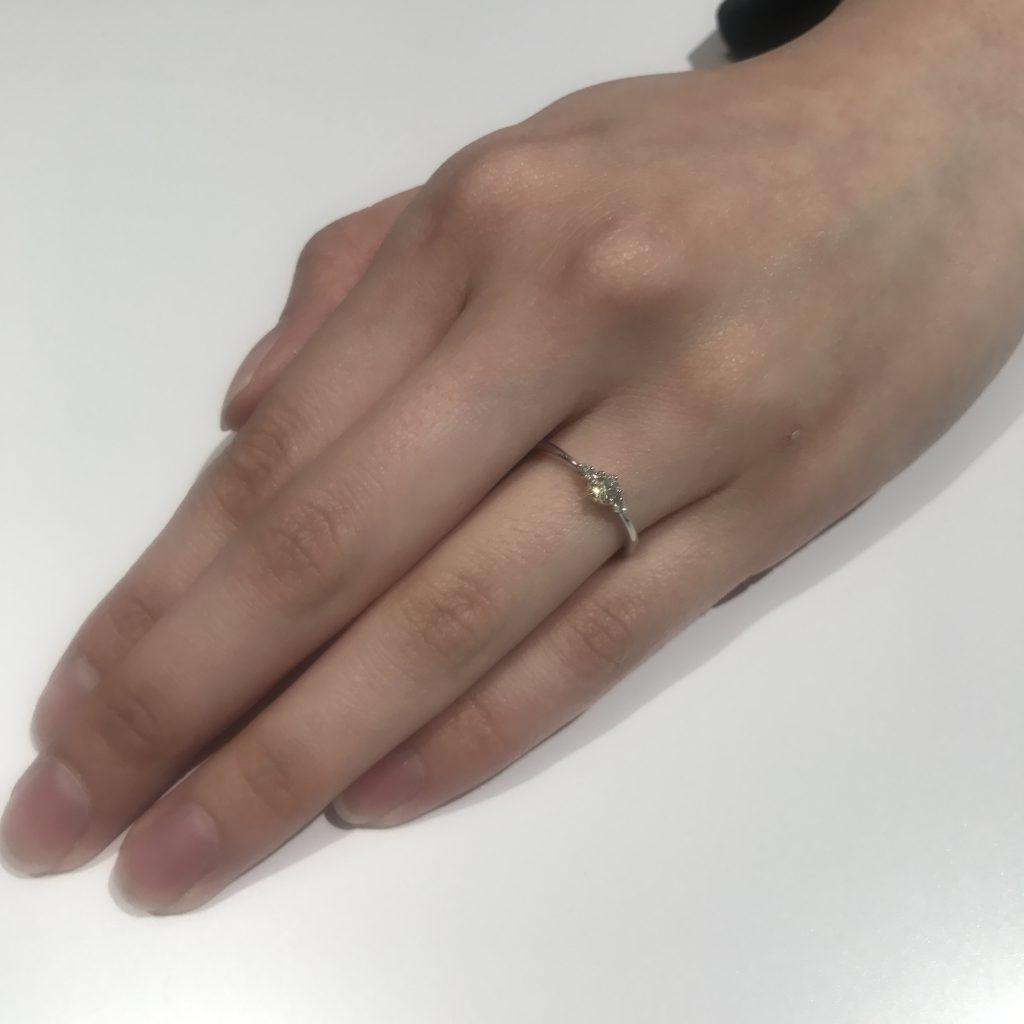 新潟で10万円以内で用意する婚約指輪💍