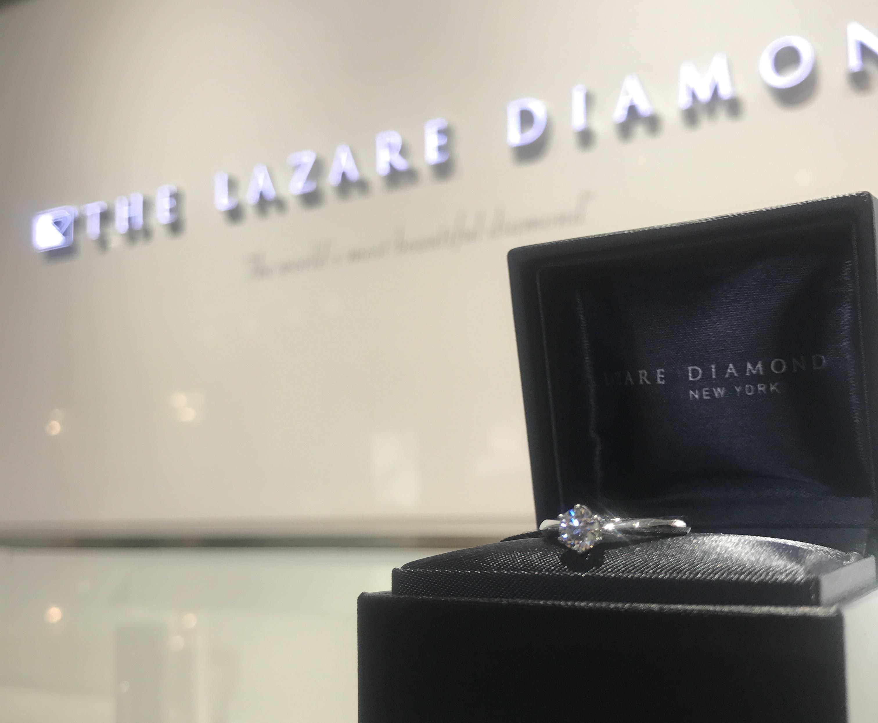 新潟で探す、まっすぐストレートのシンプルな婚約指輪