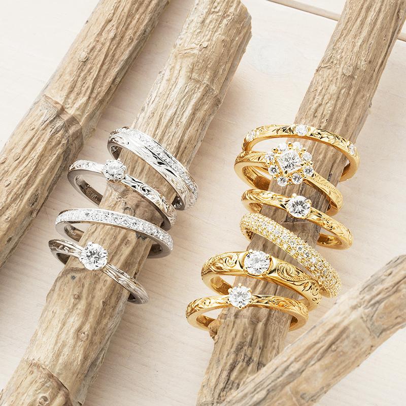 結婚指輪にハワイアンジュエリーを|知っておきたいポイント