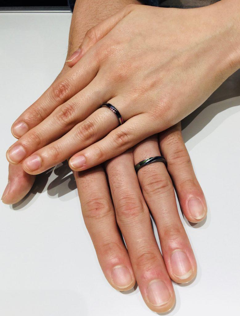 ソラ SORA 結婚指輪 モンスーン
