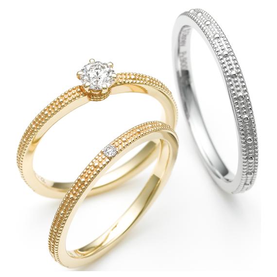 スチームボートウィリー トゥー・リズム 婚約指輪・結婚指輪