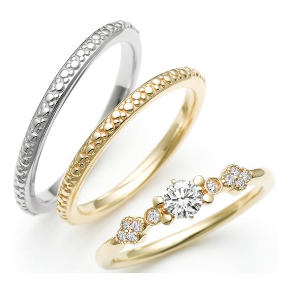 スチームボートウィリー ジョリー・ラフ 婚約指輪・結婚指輪