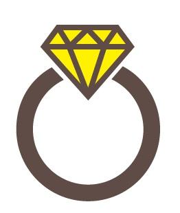 婚約指輪(エンゲージリング)、ダイヤモンド