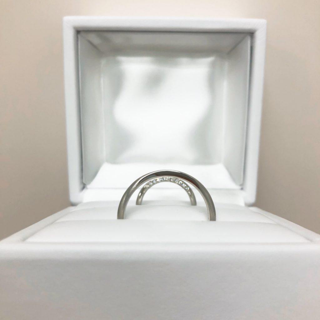 優しい着け心地の結婚指輪カフェリング(新潟市/F様・K様)