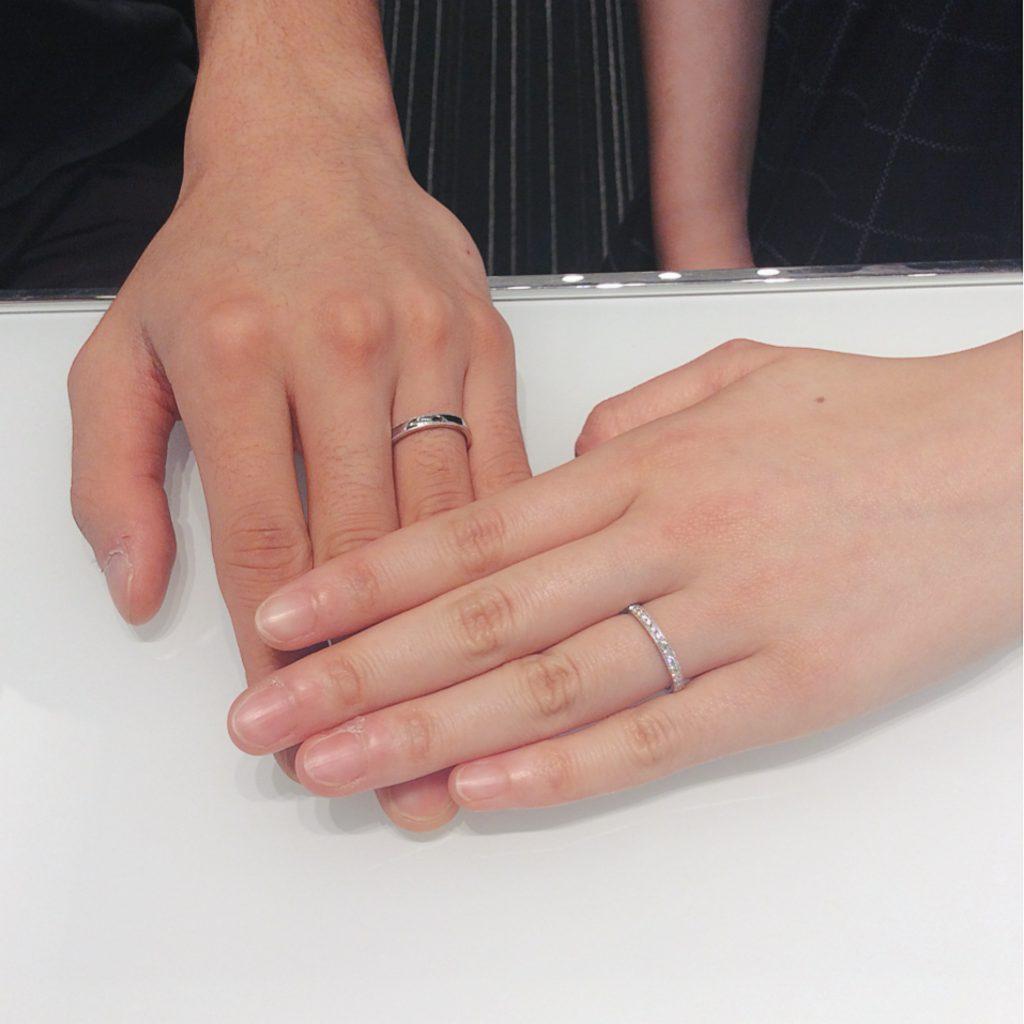 LUCIE(ルシエ)の結婚指輪をご成約(魚沼市/K様・A様)